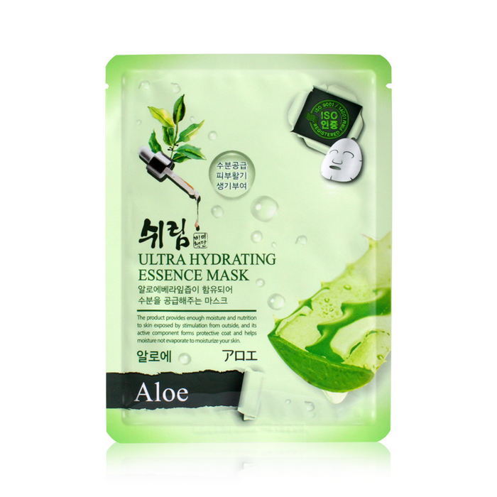 Маска для лица Shelim Ultra Hydrating Essence Mask Aloe