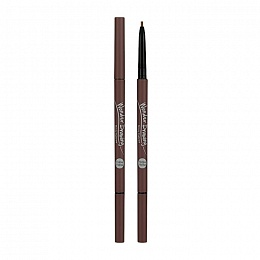 Карандаш для бровей Wonder Drawing Skinny Eye Brow 04 Red Brown, красно-коричневый