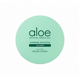 Holika Holika Aloe Soothing Essence 80% Hydrogel Eye Patch Calming (огран.годен)