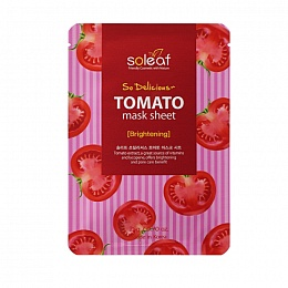 Soleaf So Delicious Tomato Mask Sheet