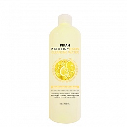 Pekah Pure Therapy Lemon Cleansing Water