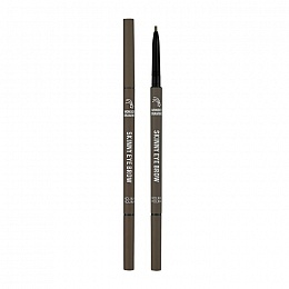 Карандаш для бровей Wonder Drawing Skinny Eye Brow 05 Ash Brown, пепельно-коричневый