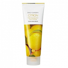 Holika Holika Daily Garden Citron Fresh cleansing foam from Goheung