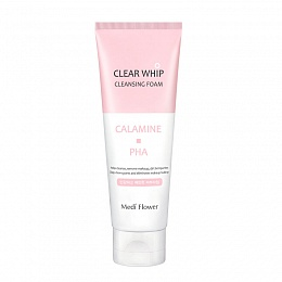 Medi Flower Clear Whip Cleansing Foam Calamine PHA